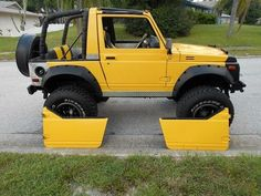 1988 Suzuki Samurai 4x4 lifted on 33's SPOA, image 19