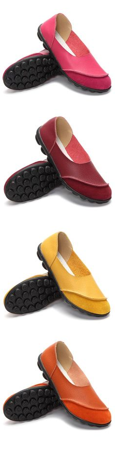 cf7c706b2dfc Big Size Color Match Soft Comfy Ballet Pattern Casual Flat Shoes is cheap  and comfortable. There are other cheap women flats and loafers online.