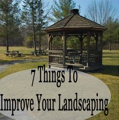 7 Things to improve your landscaping