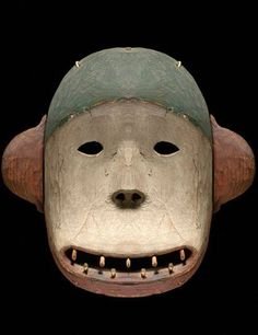 Deg Hit'an Bear Mask. Anvik , Alaska.19th Century.