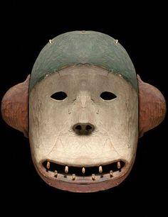 Deg Hit'an Bear Mask. Anvik , Alaska.19th Century.