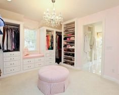 turn a spare bedroom into a closet- like the window seat by isabella