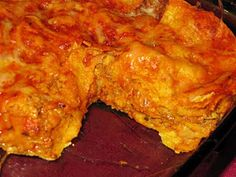 Turkey Enchilada Casserole - 6 points plus--not sure if this is for 8 or 10 servings? Better figure on 10 to be safe....