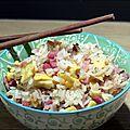 Faux riz cantonais improvisé