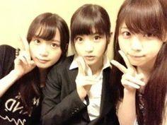乃木坂46 (nogizaka46) Fukagawa Mai (深川麻衣) Wakatsuki Yumi (若月佑美) Nishino Nanase (西野七瀬)