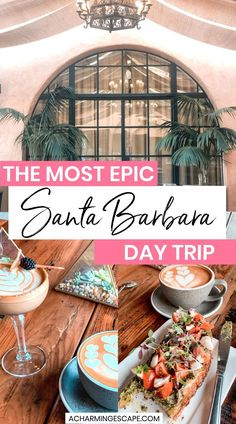 The Most Epic Santa Barbara Day Trip. My ultimate list of the best things to do in Santa Barbara, California. Santa Barbara is a perfect stop between LA and San Francisco, and a great day trip from either city. Santa Barbara is an ideal getaway for couples, families with kids and families with dogs! 1 Day in Santa Barbara | Santa Barbara in 1 Day | 24 Hours in Santa Barbara | What to do in Santa Barbara | #california #santabarbara Usa Travel, Travel Tips, Travel Destinations, Big Sur California, California Travel, Family Road Trips, Family Travel, Bucket List Family, Adventure Bucket List