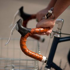- Summary - More Info - Shipping Introducing a completely new and unique method for wrapping your bicycle handlebars, the leather Bullwhip Bar Wraps. We've taken old-fashioned leather bullwhip braidin
