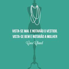 quote, Coco Chanel, dia da mulher, frase