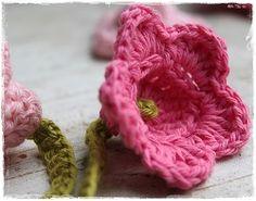 Mooi roze bloemetje