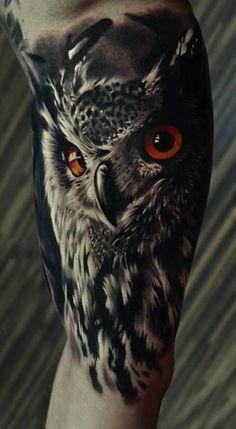 Tatuaże sowy | Z sieci