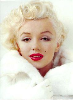 Marilyn, lèvres rouges