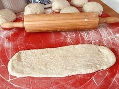 Kváskové bagety – moje malé veľké radosti Rolling Pin, Basket, Bread