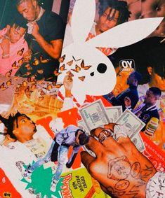 Rapper Wallpaper Iphone, Hype Wallpaper, Trippy Wallpaper, Iphone Background Wallpaper, Retro Wallpaper, Rap Background, Aesthetic Collage, Retro Aesthetic, Aesthetic Pastel Wallpaper