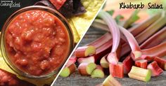 This easy recipe for fermented rhubarb salsa with ginger and honey is a great new way to use up a bumper crop of fresh rhubarb.
