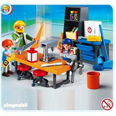 Playmobil 4326 : Classe de technologie - Playmobil-4326