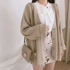 Korean Girl Fashion, Ulzzang Fashion, Asian Fashion, Korean Outfits, Mode Outfits, Fashion Outfits, Fasion, Dress Fashion, Fashion Clothes