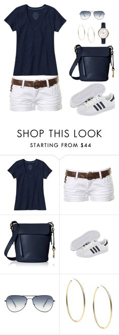 """""""Untitled #860"""" by gallant81 ❤ liked on Polyvore featuring Patagonia, Stolen, FOSSIL, adidas and Michael Kors"""
