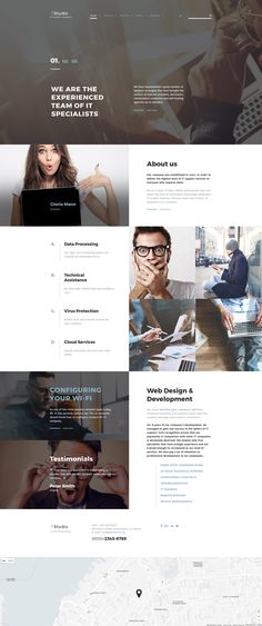 IT Consulting Site Template