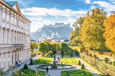 2. Salzburg, Austria Made famous by Mozart (and the Von Trapps), classic Salzburg sits divided by the Salzach River: Its pedestrian Old City lines its left bank, and the nineteenth-century comprises the right. To drink like a local, head to Bräustübl zu Mülln, Austria's largest beer hall, where beer is drawn directly from wooden barrels and can be enjoyed alongside traditional and regional specialties from the Schmankerlgang, an Old World food court of sorts.
