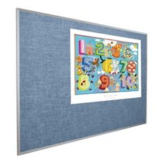 Best-Rite Manufacturing Vinyl Covered Tackboard w/ Aluminum Frame (8' W x 4' H) https://www.schooloutfitters.com/catalog/product_info/pfam_id/PFAM6479/products_id/PRO16738