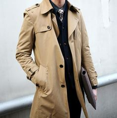 Trenchcoat for men