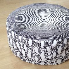 MadeBy: KANTO lattiatyyny Handmade Design, Ottoman, Chair, Inspiration, Furniture, Vintage, Home Decor, Biblical Inspiration, Decoration Home