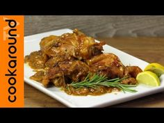 Pollo in fricassea - YouTube