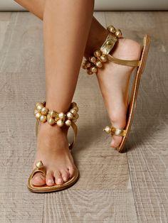 Jinglebell sandals by Bernado......that noise....ughhh