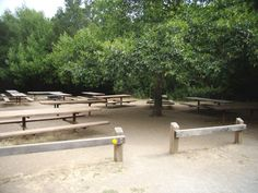 TIL: Laurel Picnic Area (150) - nine 10-ft. picnic tables, two 10-ft. serving tables, two group BBQs, and one drinking fountain with spigot. Vehicle access by permit only: $75 for up to 4 vehicles to park at the site. The main parking lot for Laurel is approximately 500-ft. away from the site. There are flush toilets near the site. Generators and Interactive Play Equipment are allowed with a permit. Unavailable between November 1st and March 31st.