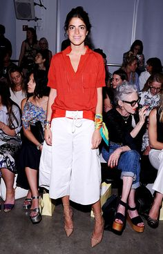 Your+Front-Row+Access+To+NYFW's+Chicest+Looks+via+@WhoWhatWear