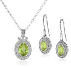 Sterling Silver Peridot Earrings and Pendant Necklace Jewelry Set Amazon Curated Collection,http://www.amazon.com/dp/B00E8ZVVUG/ref=cm_sw_r_pi_dp_.-Jotb0H3VD683G1