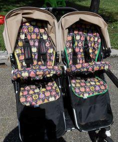 Sitzauflage für Bugaboo Kinderwagen nähen