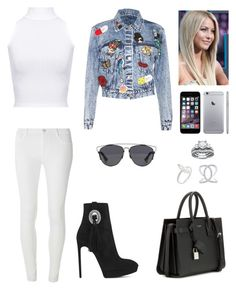 """Untitled #816"" by mtbcastro-goncalves ❤ liked on Polyvore featuring Alice + Olivia, WearAll, Dorothy Perkins, Yves Saint Laurent, Christian Dior, JJ Number 8 and Anne Sisteron"