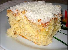 Receita de Bolo Fanta - bolo sair do forno ainda quente fure o bolo com o garfo e coloque o creme por cima cubra com papel laminado e depois de frio mantenha-o na...