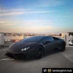 #Repost @lamborghini.hub (@get_repost)  Sneaky Bull Follow @lamborghini.hub Photo @Mr.car #lamborghinihub #stealth #darknight