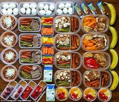 Meal prepping is a craze that has swept Instagram, with more than 4.5 million photos of perfectly prepped food tagged under the hashtag: #mealprep