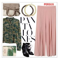 """""""Persunmall"""" by teoecar ❤ liked on Polyvore featuring FOSSIL and H&M"""