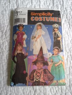 Simplicity costume pattern simplicity 5887  $4.50 by BloomingRoseCrochet