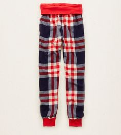 Navy Aerie Flannel Jogger