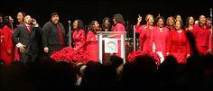 Attend to a Gospel Mass in Harlem