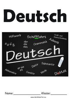 Deckblatt Geschichte Schule Schule School Education Und History