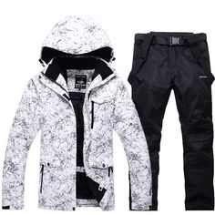 Snow Jackets Man/Woman Snowboarding Clothes Winter Outdoor Sports ski suit sets Waterproof Thick -30 Warm Costume jackets pants