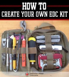 How To: Create A Personal EDC Kit