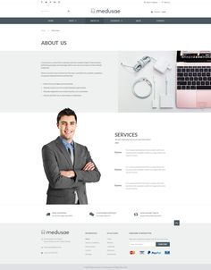 1. Introduction    The Medusae PSD – an inspiration PSD template for anyone that wants to start his own business to sell any kinds of products, but this template performs best when it's used f...