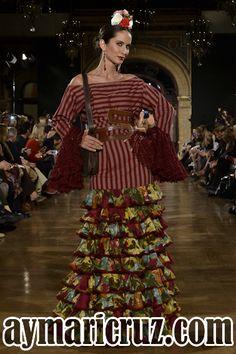 Pepa Garrido: Contratiempo |  Moda Flamenca por Cayetano Gómez vía ¡Ay Maricrú!