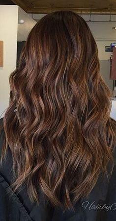 Cinnamon brunette Brown Hair Balayage, Brown Blonde Hair, Brunette Hair, Hair Highlights, Cinnamon Brown Hair, Cinnamon Hair Colors, Brown Hair Shades, Dyed Natural Hair, Dye My Hair