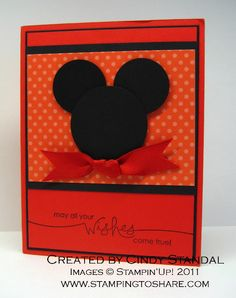 Stamping to Share: 4/26 I Have Happy Disney NEWS!!!