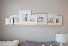 Really loving this photo ledge from Etsy. Finally getting around to printing family photos. Next up, photo-books. Display Family Photos, Photo Ledge Display, Photo Displays, Home Decor Styles, Cheap Home Decor, New Living Room, Living Room Decor, Photo Shelf, Photo Wall