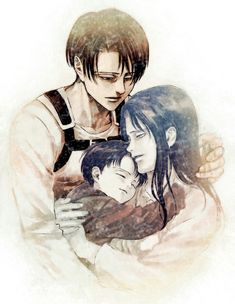 Levi and his mother