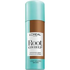 L'Oreal Paris Hair Color Root Cover Up Temporary Gray Concealer Spray, Light Golden Brown, 2 Ounce -- More info @